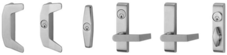 Von Duprin | 33A Series Standard Trim | relcross door controls®