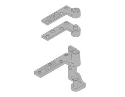 7215.LH.SP28 19mm Offset Pivot Set | Image 1