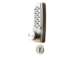 K2100KL.5520.S.60.RH.SC Digital Lock (Knob/Lever) - 60mm Backset | Image 1